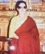 Tibetan nun Wangchen Dolma died after self-immolating on June 11, 2013.