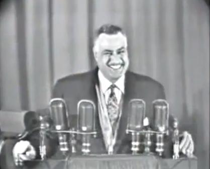 Gamel Abdel Nasser, 1953.